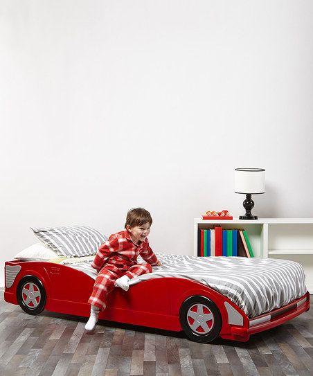 Race Car Bed #zulilyfinds