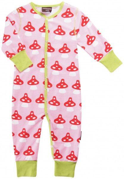 Pijama baby mushrooms
