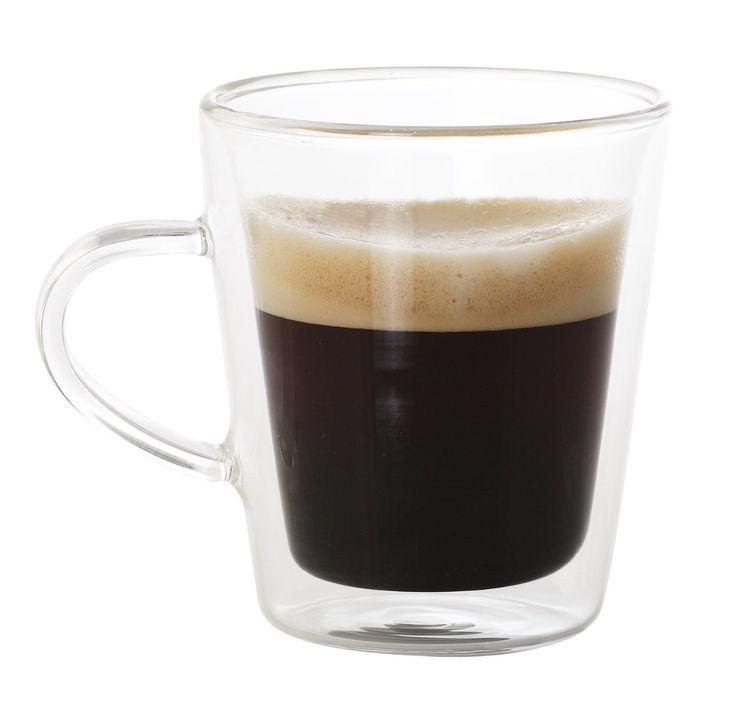 IDELICE AR478640A - Juego de tazas de café de cristal (2 unidades, 225 ml): Amazon.es: Hogar