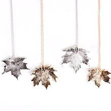 Birch Jewelelry - Maple Leaf Necklace