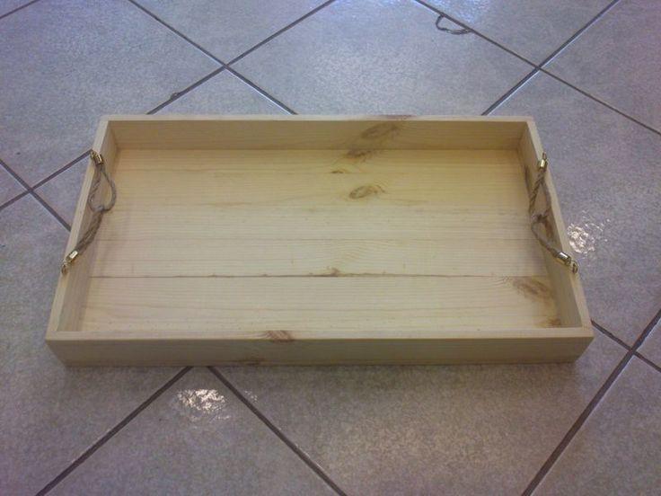 Δίσκος ξύλινος 50χ29χ6 cm