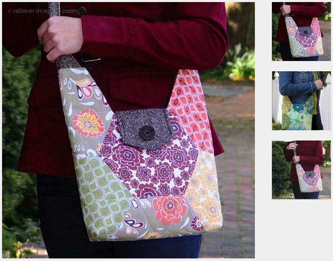 189 best Quilted Handbags images on Pinterest | Stitching, Bag ... : quilted purse pattern free - Adamdwight.com