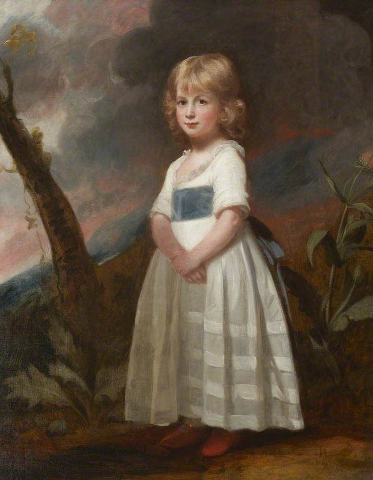 Master Richard Meyler, 1795, Aged 3 or 4 by George Romney, 1795. Kendal Town Council