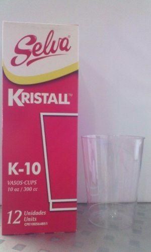copas de vino plasticas / acrilico y vasos selva kristall