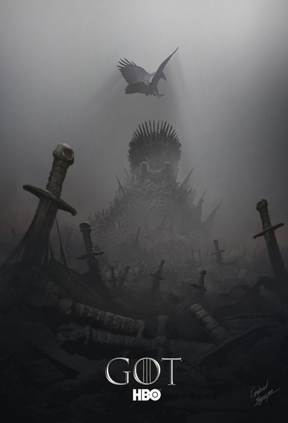 Game of Thrones Concept Art by Gabriel Yeganyan