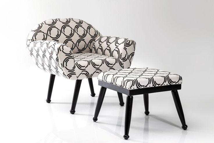Was für ein Wahnsinns-Duo von Kare Design im angesagten Schwarz-Weiss-Kontrast! Ein absolutes Must-Have für jeden Designliebhaber!  #hocker #sessel #Stuhl #set #loungesessel  #vitage #schwarz #weiß #weiss #Kare #Karedesign #moebel #möbel #moebelpower #moebeltraeume