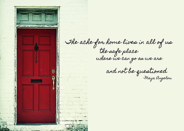 Red Door Quote Photograph by JAMART Photography - Red Door Quote Fine Art Prints and Posters for Sale  sc 1 st  Pinterest & 44 best home quotes images on Pinterest | Families Inspiration ...