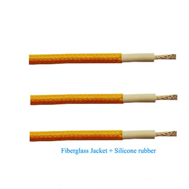Ul3122 Flexible Fiber Glass Braided Silicone Rubber Insulated Wire
