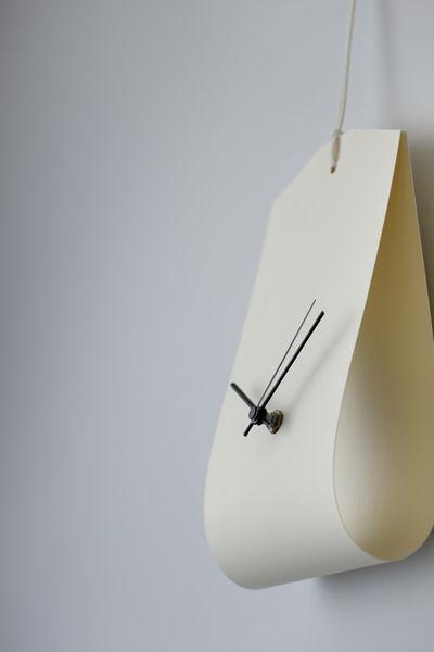 Minorpoet minimal contemporary  clock designs wall clock folded #wall #clock