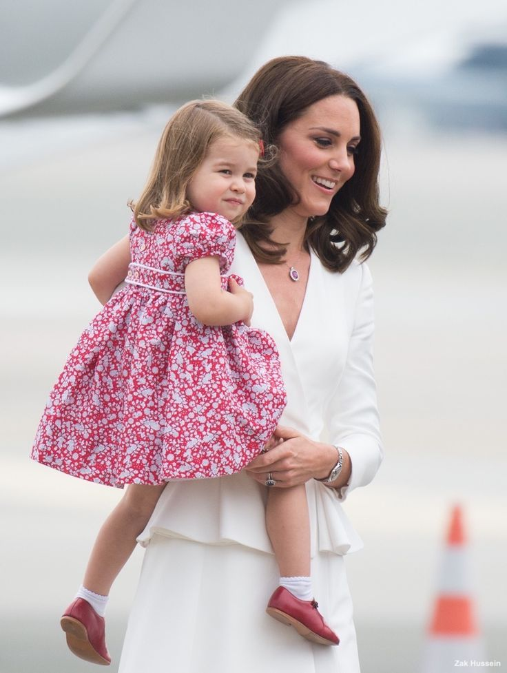 Duchess Katherine and Princess Charlotte Elizabeth Diana