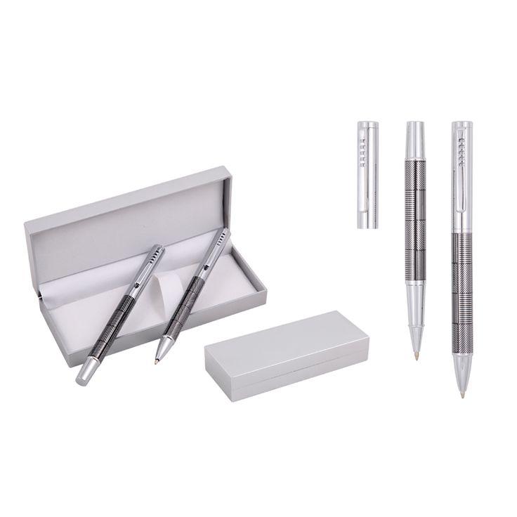 Roller Beyaz Tükenmez Kalem Seti - Promotarz Promosyon Ürünleri
