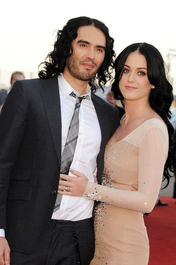 Katy Perry and Russel Brand, 2010 ... there were elephants ...