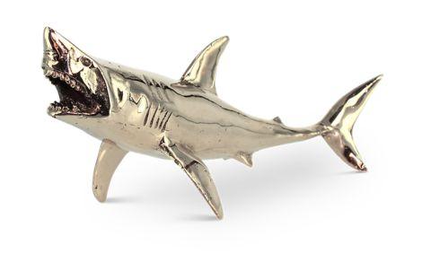 Finn Brass Shark   Mr Pinchy and Co   Luxury Decor – Salt Living or online at www.saltliving.com.au #saltliving #mrpinchyandco #brass #handmade