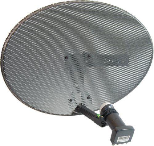 Zone 2 Dish Kit with Quad LNB for Sky, Freesat, Astra, Hotbird, Polesat