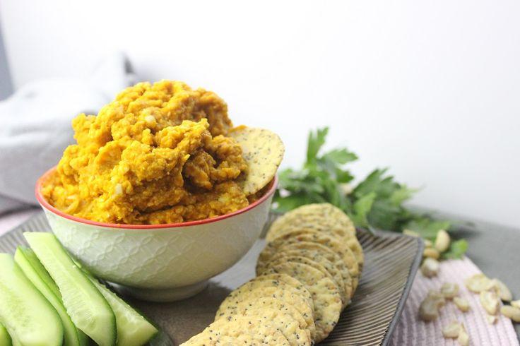 Roasted Pumpkin and Garlic Dip - Sistermixin