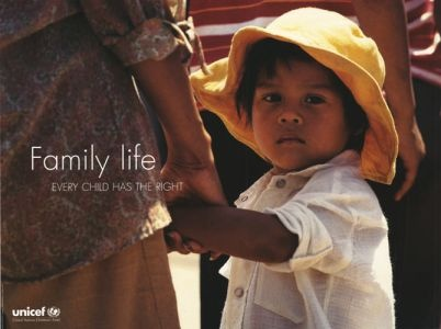 """UNICEF poster circa 1999 - Part of the """"Convention on the Rights of the Child"""" series"""