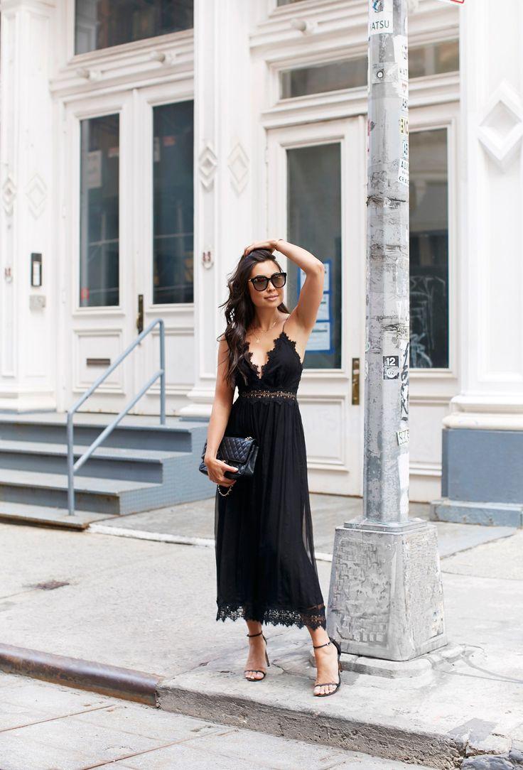 Lace Jumpsuit in Soho -  Zimmermann jumpsuit // Sezane jacket // Stuart Weitzman heels // Chanel bag June 12, 2017
