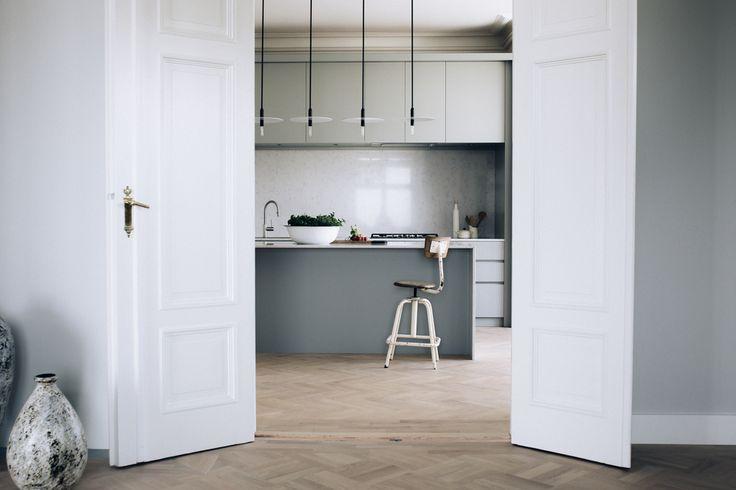 Stort og åpent kjøkken med kjøkkenøy http://www.cki.no/kjokken