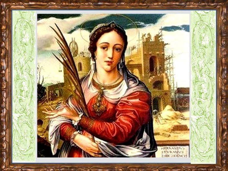 Oh bendita santa Bárbara, gloriosa virgen y mártir, vos sois la hija de Dios querida y la mujer aquella que el martirio preferist...