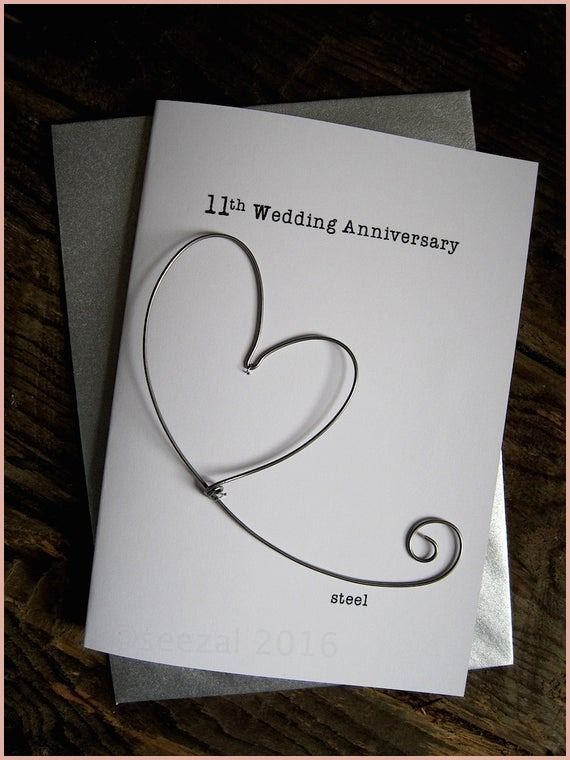 Wonderful 11th Wedding Anniversary Gift For Husband Of 2020 In
