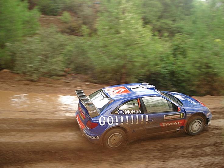 2006 Antalya WRC Colin McRae