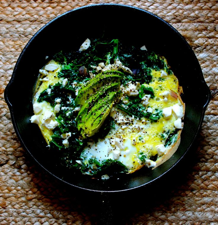 kale omelette - Fancier than scrambled eggs and easier than an omelette...read moreContinue Reading...
