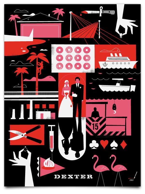 Dexter Season 3 Minimalist Poster