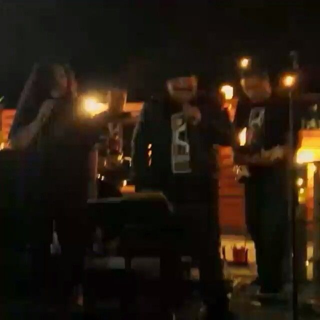 @rellekbrown one talented & gifted dude singin 'Treasure' Thanks @gxlu.xss for the vidkgroovenow,  band, K-GROOVE-NOW
