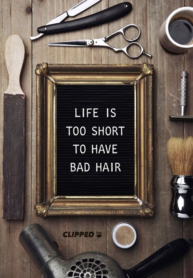Life isn't always perfect, but at least your hair can be. Don't miss Clipped, premiering Tuesday, June 16, 2015 at 10/9c, on TBS!