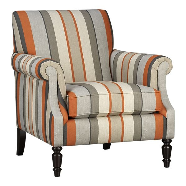 Suffolk Chair, $999 Like the chair but in different material. I have an orange striped chair, I will use it in the center of the room....I'd live the feinting couch$$$$ must be frugal.