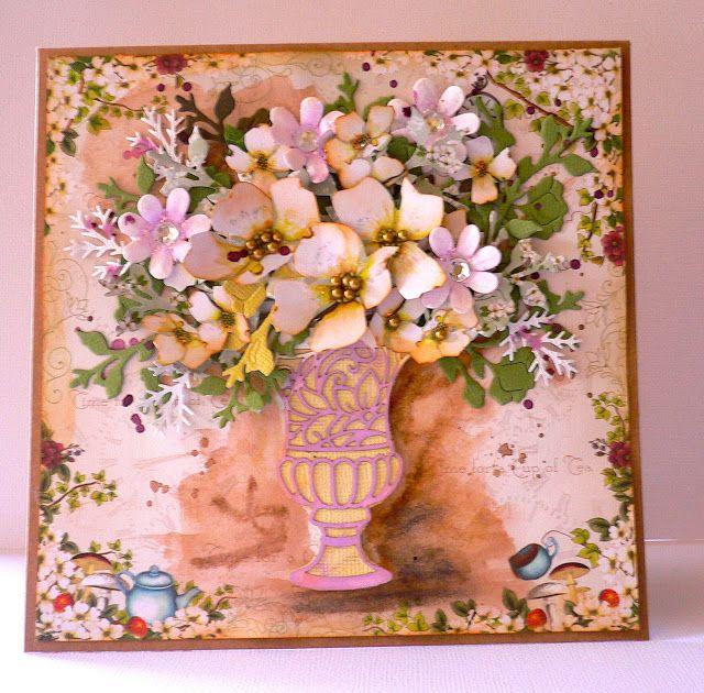 Artdeco Creations Brands: Enchanted Bouquet Cards by Adriana Bolzon