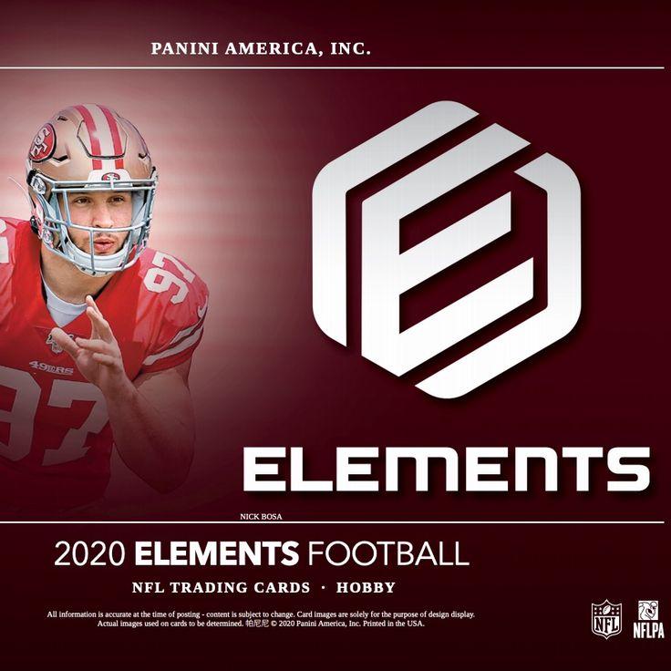 2020 panini elements football checklist nfl set info