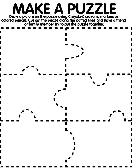 13 best Puzzles images on Pinterest Puzzle piece template - blank puzzle template