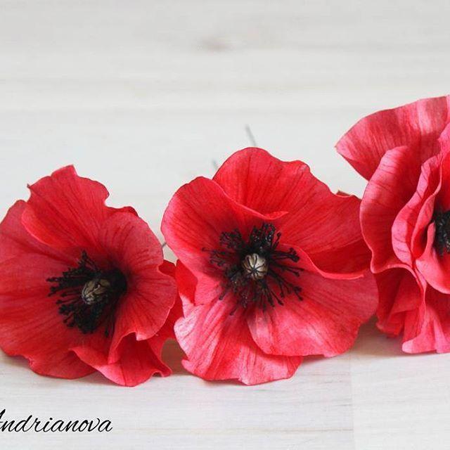Шпильки - маки. #макишпильки#макизфоамирана #шпильки #цветыизфоамиранаКрасноярск#цветыизфоамирана #свадебныеукрашения #цветочныеукрашения #украшениядляволос #фоамиран #красноярск #цветы#flowers #inspiration#homemade #ручнаяработа #wedding#свадьба #decor #presents #подарки#handmadeflowers #foamiran#flores#poppy#krasnoyarsk#полевыецветы #instasize #instapic #handmade #мак