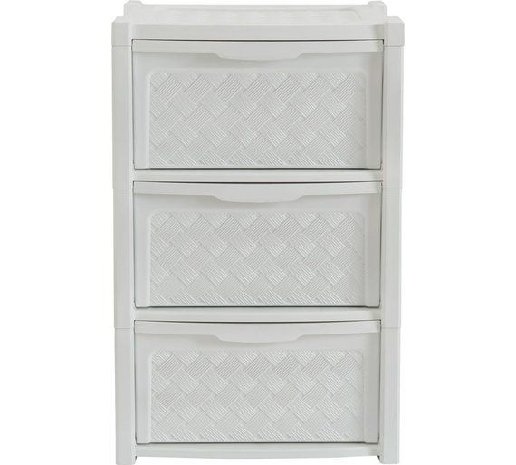 Buy HOME 3 Drawer Rattan Effect Tower Storage Unit at Argos.co.uk, visit Argos.co.uk to shop online for Plastic storage boxes and units, Storage, Home and garden