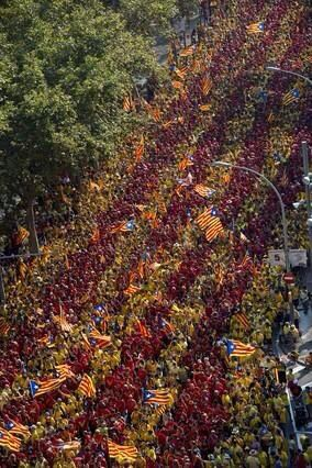 V. Per el dret a decidir. 11 septembre 2014 Barcelona
