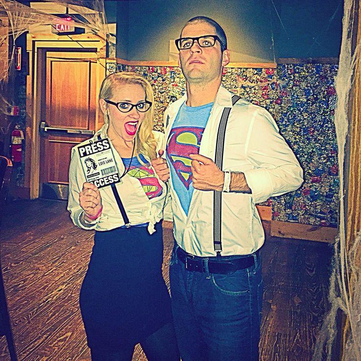 Clark Kent & Lois Lane diy costumes
