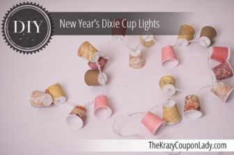 DIY: Dixie Cup Party Lights