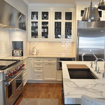 Built-In Toaster Nook, Transitional, kitchen, KItchen Lab