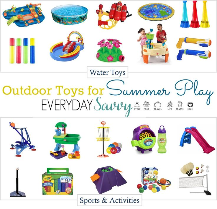 Check out these fun outside toys for kids that will help your kids keep moving and enjoying the outdoors. These affordable toys are great for many ages.