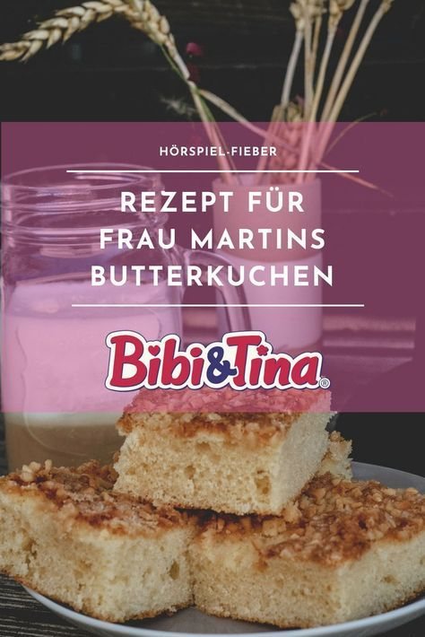 (Advertisement and competition) Mrs. Martin's butter cake and a big Bibi & Tina passion