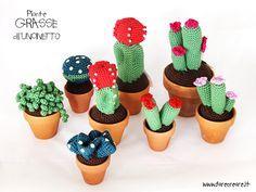 Cactus all'uncinetto: free pattern per amigurumi pianta grassa.