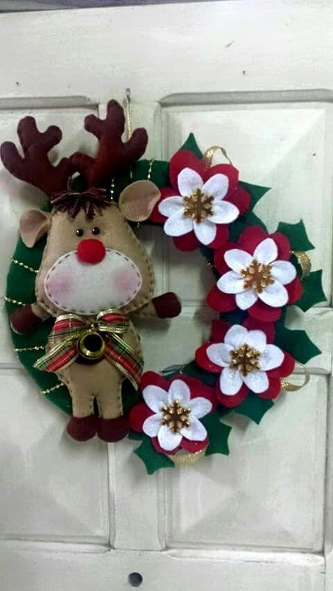 M s de 25 ideas incre bles sobre adornos de renos en - Adornos navidenos para comercios ...
