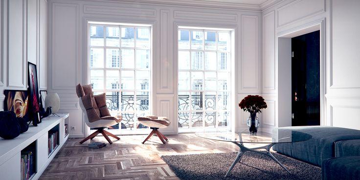 French Apartment by Phanox.deviantart.com on @deviantART
