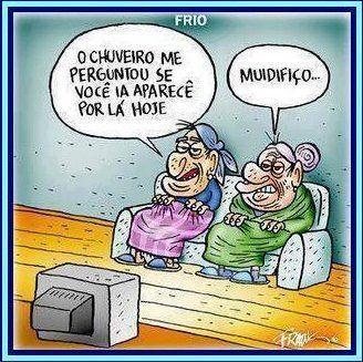 Recanto do Maluco.: Frio