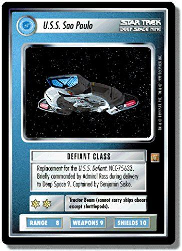 STAR TREK CCG 1E ROA RULES OF ACQUISITION USS SAO PAULO 117R for USD9.75 #ACQUISITION Like the STAR TREK CCG 1E ROA RULES OF ACQUISITION USS SAO PAULO 117R? Get it at USD9.75!