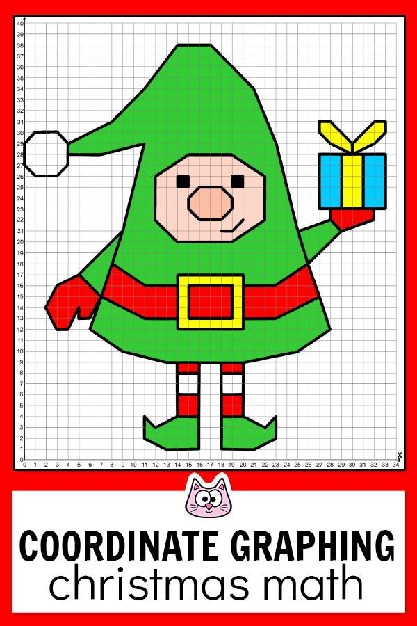 Practice Plotting Ordered Pairs With These Fun And Engaging Christmas Differentiated Coo Coordinate Graphing Coordinate Graphing Mystery Picture Christmas Math
