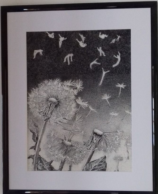 Olga KOSTENKO - Dandelions - Artists & Illustrators - Original art for sale direct from the artist