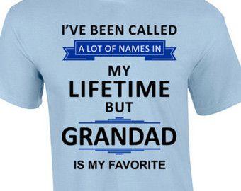 Grandad T-Shirt | Father's Day T-Shirt | Gift For Grandad | Present for Grandad |  Grandad Birthday T-Shirt | Grandad Christmas Gift