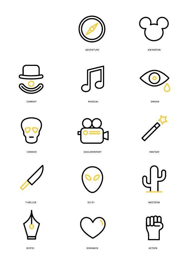 Inspire-se: referências de pictogramas